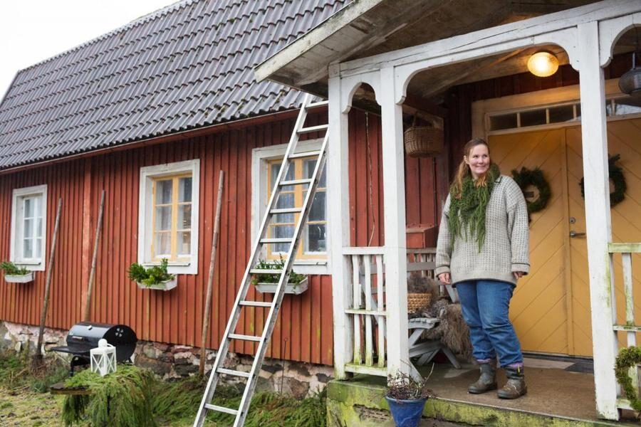 Kon Margit blir barnbok. Matte Karin Linderoth gör boken.