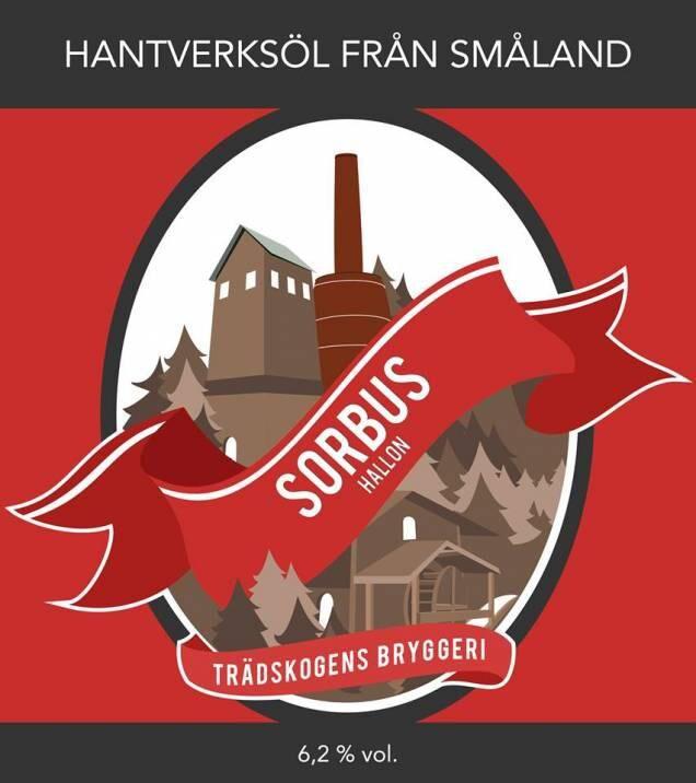 Sorbus Hallon från Tradskogens bryggeri.