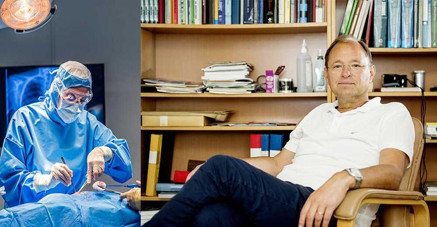 Björn Olsen till höger. De resistenta bakterierna gör att den högkvalificerade vården inte kommer att kunna vara lika effektiv i framtiden.