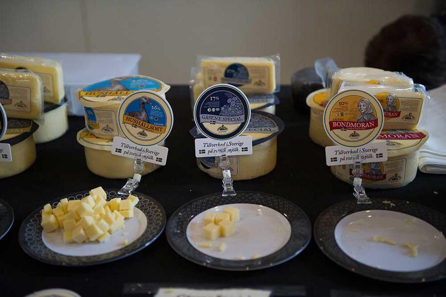 Gäsene mejeri - goda ostar med härliga namn. Foto: John Guthed.