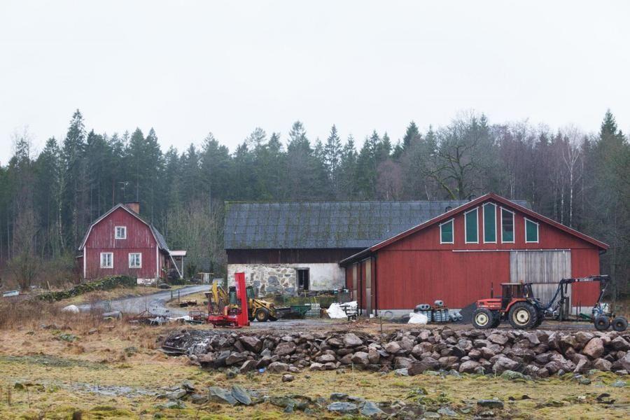 Anor från 1856. Karin ärvde gården efter sina morföräldrar och mycket i huset ser ut som det gjorde då.
