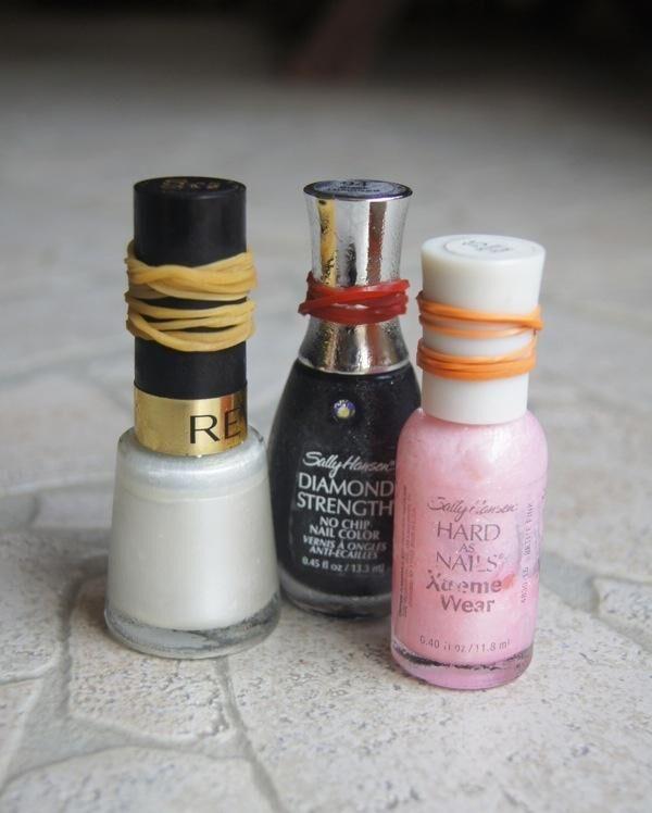 nagellack-gummiband