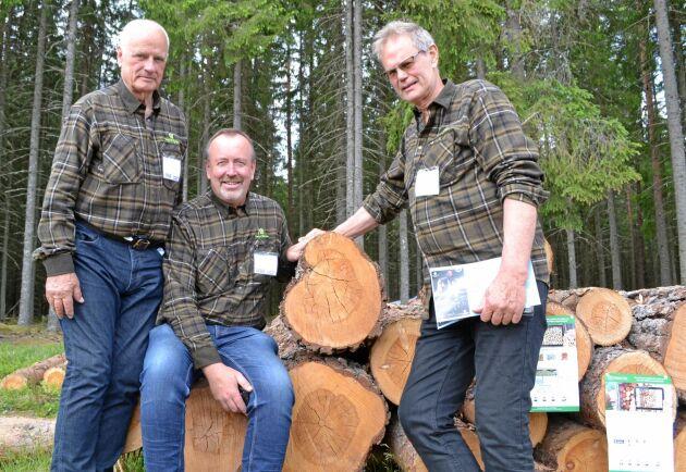 Delar av Tracy-gänget: Jan-Erik Rendahl, Jonny Edvardsson och Torbjörn Sjödin.