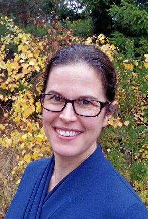 Alice Högström, inventeringsledare på Skogsstyrelsen.