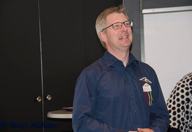 Magnus Jönsson, ordförande Fåravelsförbundet.