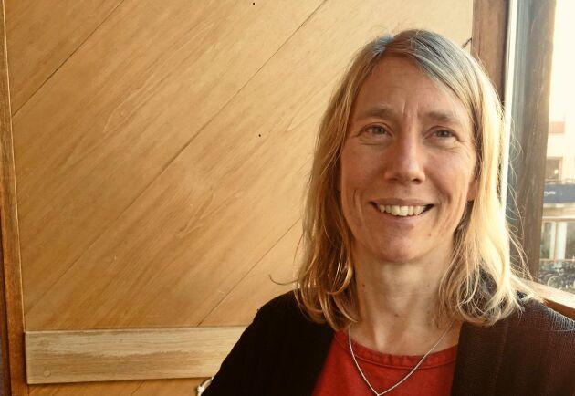 Line Strand, växtodlingsrådgivare på HS Konsult, ser en utmaning för svenska lantbrukare att klara en ökad dygnsnederbörd på grund av klimatförändringar.