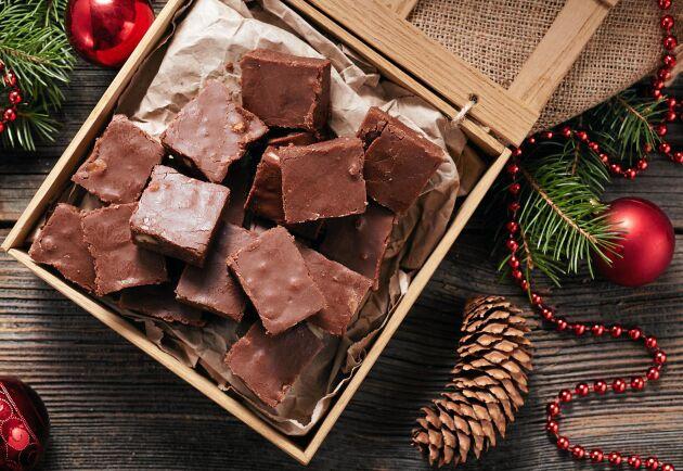 En fudge utan vitt socker – med smak av chokladkola!