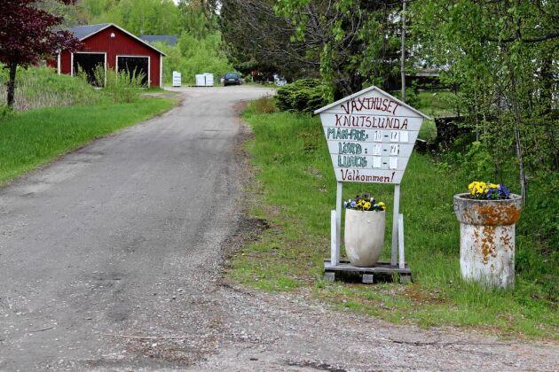 Handelsträdgården har bedrivits av familjen Bergström sedan tidigt 1980-tal.