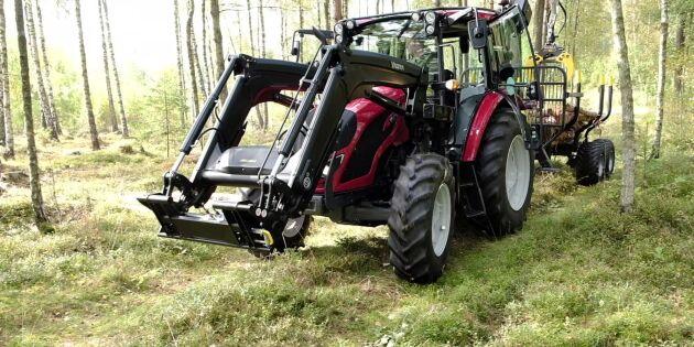 Traktortest: Vi utmanar storsäljaren i skogen