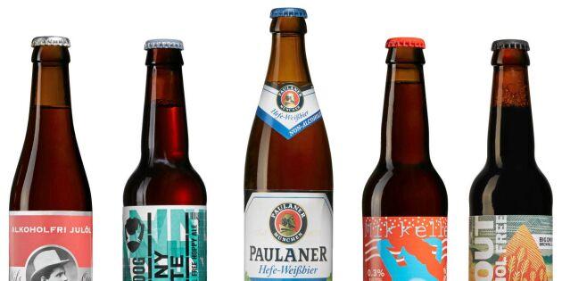 Vit jul? Bästa tipsen på alkoholfri öl!