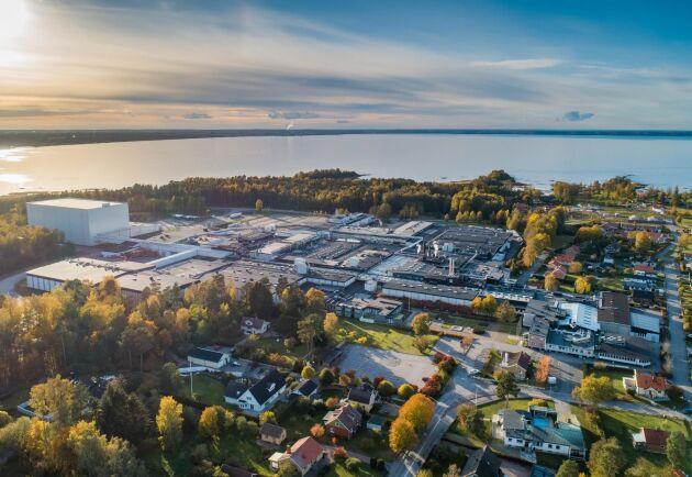 Så här ser Dafgårds anläggning i Källby utanför Lidköping ut i dag. Den nya anläggningen, med en total yta på över 4 000 kvadratmeter, kommer att stå klar redan i början av 2022.