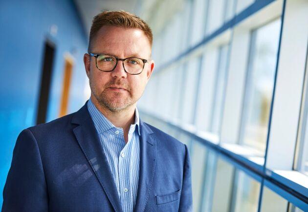 Fredrik Federley, centerpartistisk EU-parlamentariker.