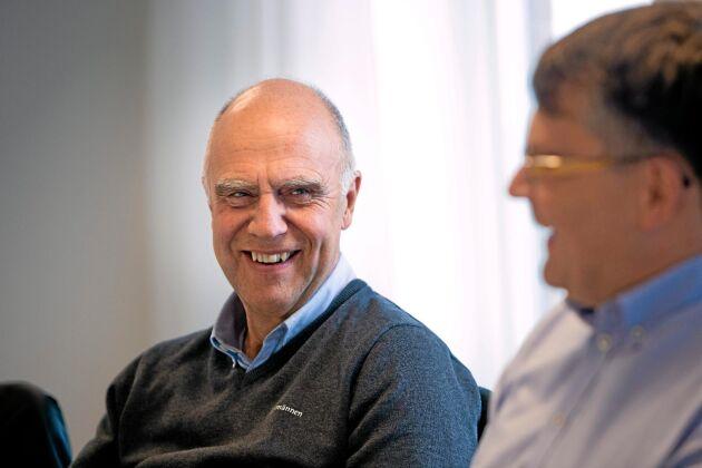 Bengt Karlsson, Lantmännen Lantbruks regionchef för Västsverige, konstaterar att foderproduktionen går för högtryck.