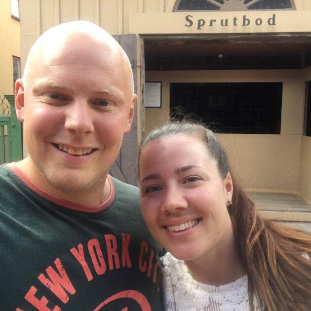 Petra och Sebastian Liljeblad träffades i Bonde söker fru 2014 och väntar nu sitt första barn.