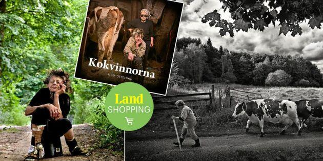Här är boken om Sveriges sista handmjölkerskor