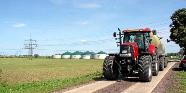 Biogas ska göra lantbruk klimatsmarta