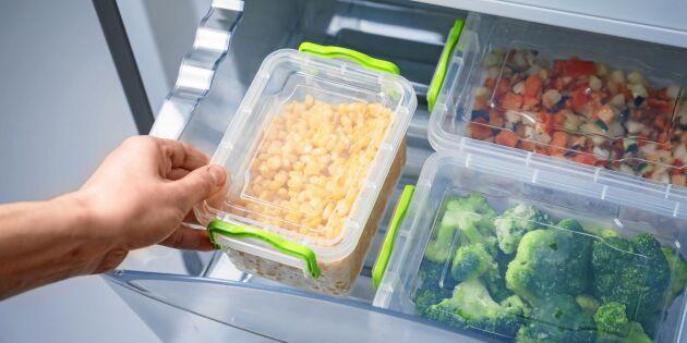 LISTA: Så länge håller olika livsmedel i frysen