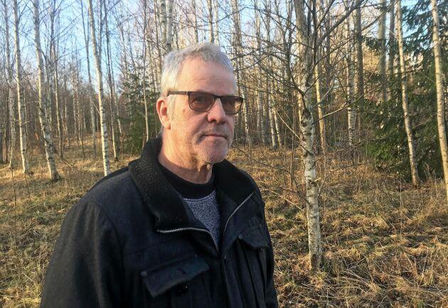 """Förutom ordförandeuppdraget i Skogsentreprenörerna har Kolbjörn KIndströmer också förtroendeuppdrag i Mellanskog och LRF. """"Jag kan inte låta bli att engagera mig"""", säger han."""
