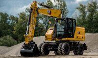 Sex nya grävare från Caterpillar
