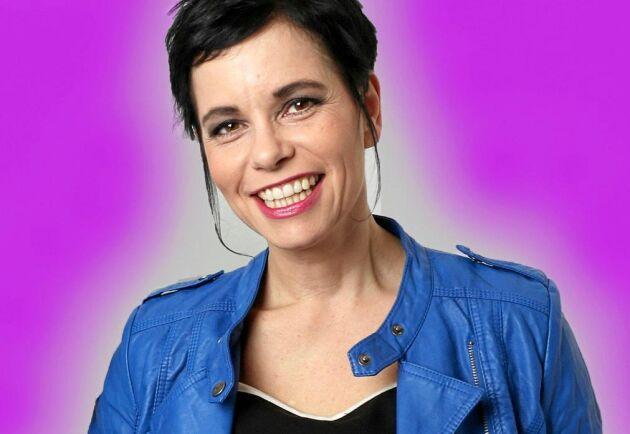 Carolina Noren, programledare för Svensktoppen.