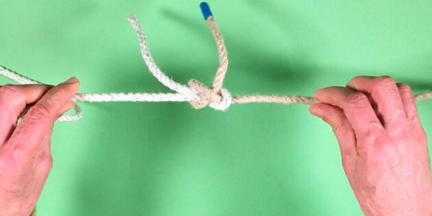 Med skotstek får du repen att sitta ihop