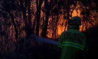 12-åring flydde brand – körde storebrors bil