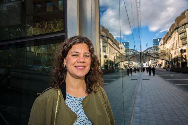 """""""Det är bra att jordbrukarstödet prioriteras. Däremot hade det varit smakligt om Jordbruksverket även hade tittat på en ökning av budgeten"""", säger Sofia Björnsson."""