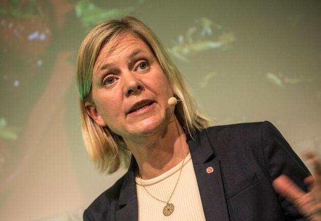 Krisstöd på 760 miljoner saknas i Magdalena Anderssons budget.