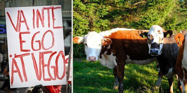 """""""Kräver klimatet att mjölkkor och grisar slaktas?"""""""