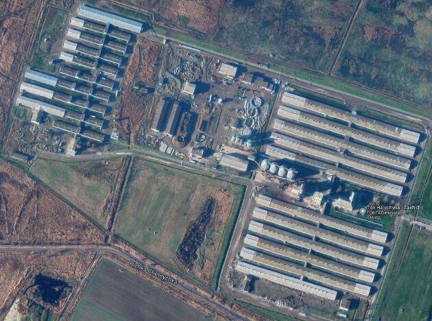 Gården, som ägs till 82,85 av danska Zythomir Holding A/S, är en av de största i Ukraina.