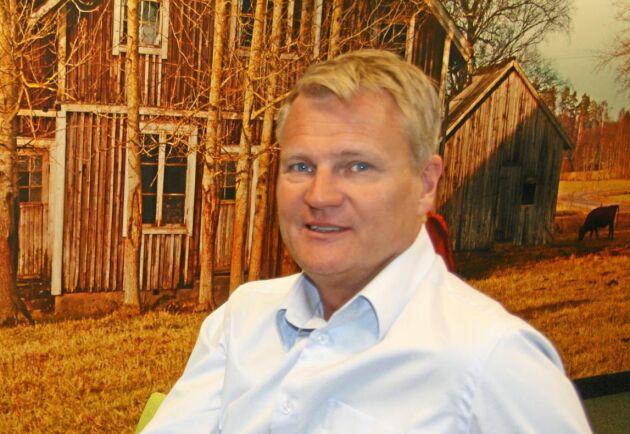 Patrik Hansson VD Arla varnar för att en hård och snabb Brexit sänker mjölkpriset på EU-marknaden.