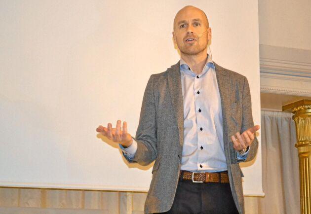 Ny VD för Vida blir Måns Johansson som började sin bana på företaget i produktionen i mitten på 1990-talet. Arkivbild.