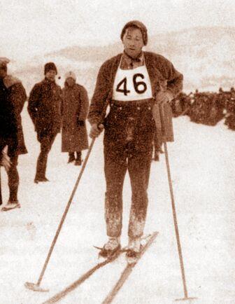 Vasaloppets första vinnare 1922, Ernst Alm från IFK Norsjö i Västerbotten.