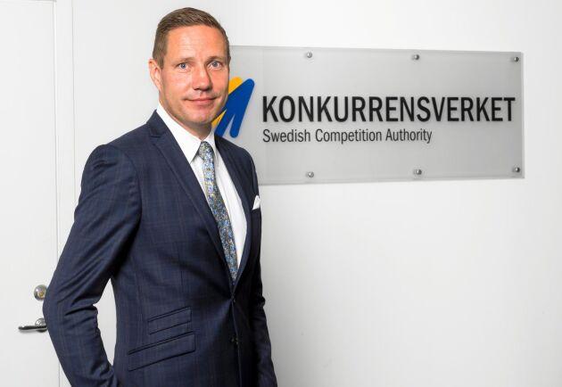 Rikard Jermsten, generaldirektör Konkurrensverket.