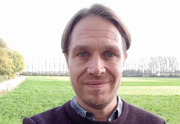 Georg Carlsson, universitetslektor i odlingssystemsekologi, institutionen för biosystem och teknologi på SLU i Alnarp.