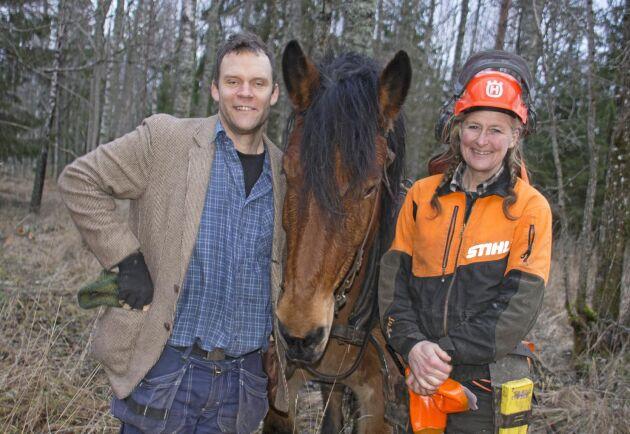 Kusken Johannes Söderqvist, Satankai och Cecilia Berntsson.