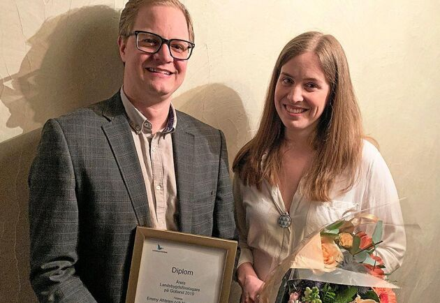Nyligen blev de utnämnda till årets gotländska landsbygdsföretagare 2019.