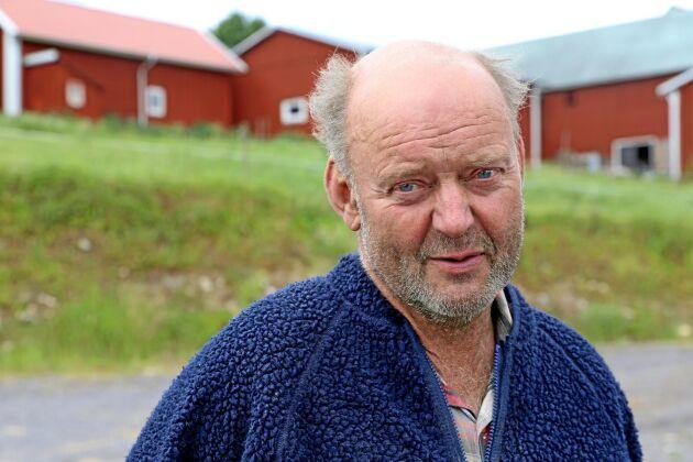 Evald Eriksson, mjölkbonde i Ör norr om Växjö.