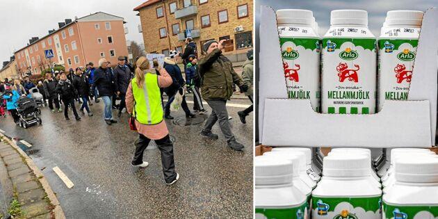 Efter protesterna: Nu rasar försäljningen av Arla-mjölken