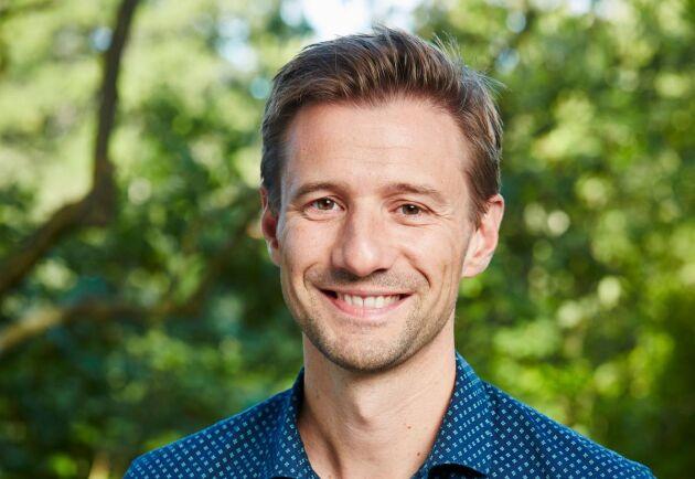 Daniel Gejde på Kiviks Musteri.