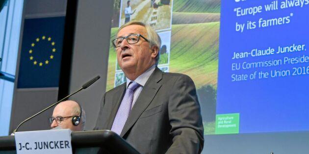 EU drar ned på jordbruksstöden