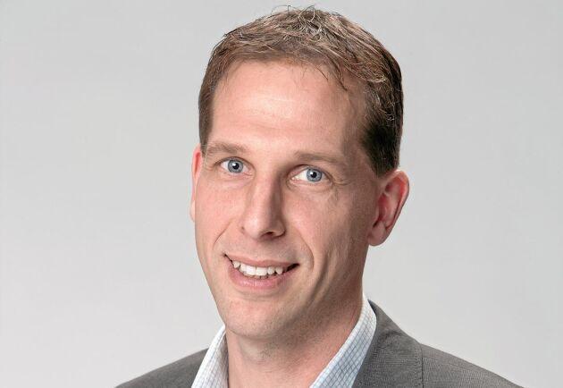 Paul Nord, affärsområdeschef på Svefa Skog och Lantbruk.