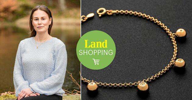 Perfekta gåvor. Naturälskande presentgivare är självklara kunder av Victoria Carlssons smycken.