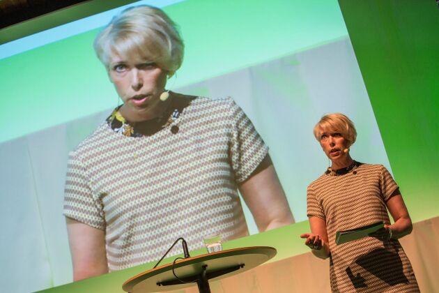 Helena Jonsson på LRF:s årsstämma 2016.