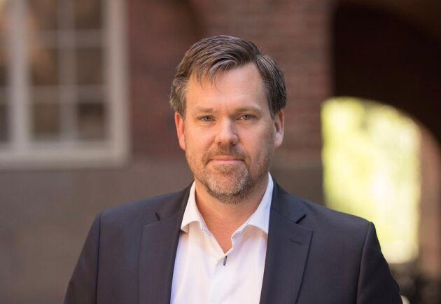Daniel Söderberg, forskare vid KTH i Stockholm.
