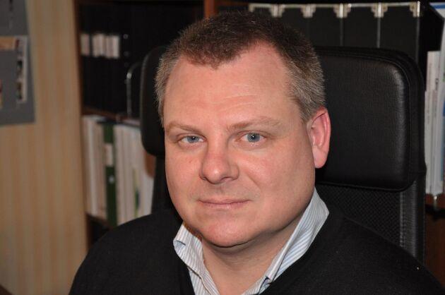 Carl-Fredrik Svederberg, arrendator av Läckö kungsgård utanför Lidköping, är nyvald vice ordförande i SJA.
