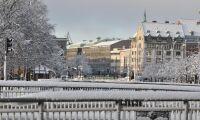 Bara pengar kvar för två snöfall i Göteborg