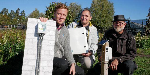 Får bidrag för att utveckla ny frostskyddsbevattning