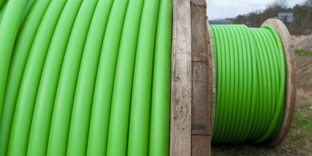 """Utbyggnad av bredband står still på landsbygden: """"Komplicerad process"""""""