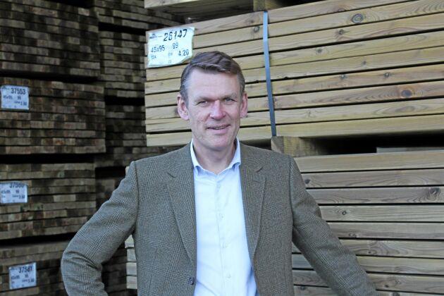 Peter Nilsson är vd för Bergs Timber.